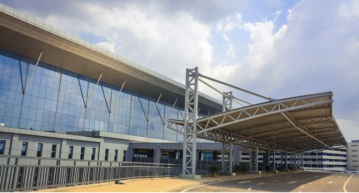 Photos Of the brand new international Terminal Airport At MMIA