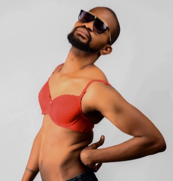 Uche Maduagwu Wears Bra After coming out As gay